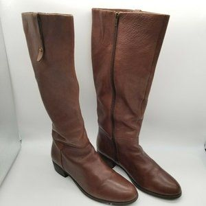 Crown Vintage Aubrie Leather Brown Boots Women